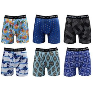 Warriors and Scholars Men Boxer 6 Set Pack
