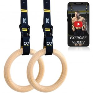 Double Circle Training Wooden Ring