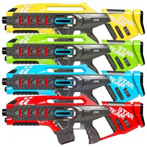 Best Choice Products 4-Set Laser Tag Guns