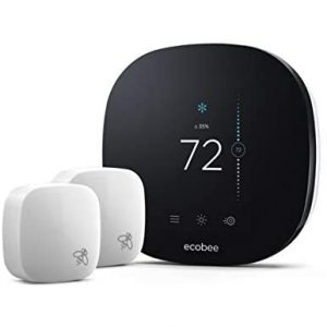 Ecobee3 lite Smart Thermostat with Two-Room Sensors