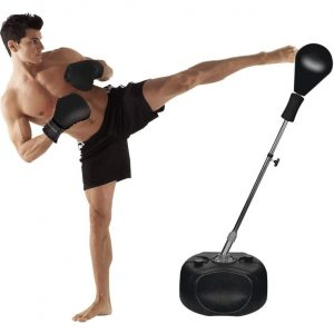 Protocol Boxing Ball Set Adjustable Height Stand with Punching Bag