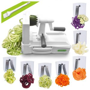 Spiralizer Ultimate 7 Strongest-and-Heaviest Duty Vegetable Pasta