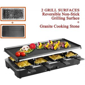 Artesia Electric Raclette Non-Stick Grilling Plate