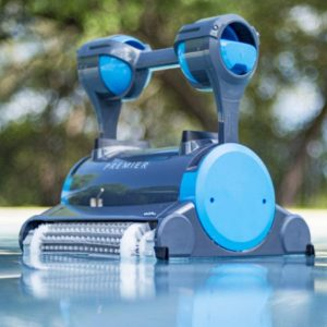 DOLPHINE Pool Cleaner with Dual Brushes
