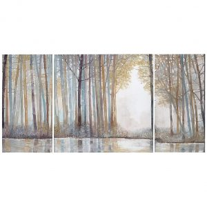 Madison Park Living Room Forest Reflections Wall Art