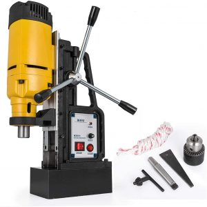 Mophorn Magnetic Drill with 500RPM; Portable