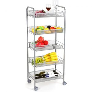 Homfa 5-Tier Kitchen Storage Rack