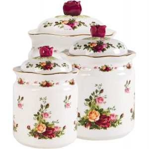 Royal Albert 28839007 Old Country Roses Canisters