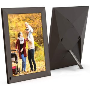 """BSIMB 10"""" WiFi Cloud Photo Frame for Digital Pictures"""
