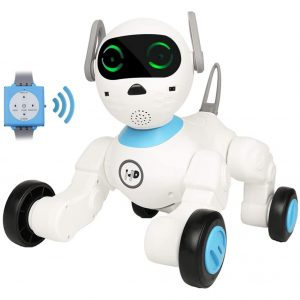 Dnine Smart Robot Dog with Voice & Touch Control