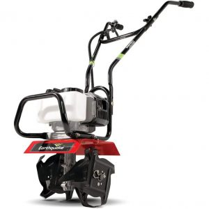 Earthquake 31452 Lightweight Powerful MAC Tiller Cultivator, Red