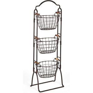 Mikasa Gourmet Basics Harbor 3-Tier Kitchen Storage Rack