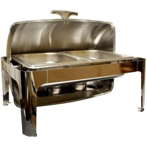 Lot45 Stainless Steel Chafing Buffet Set