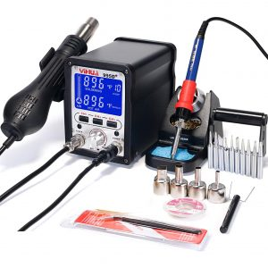 YIHUA Soldering Iron Station and Hot Air Rework 995D+