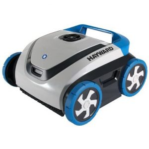 Hayward Robotic Pool Cleaner; Gray and Blue