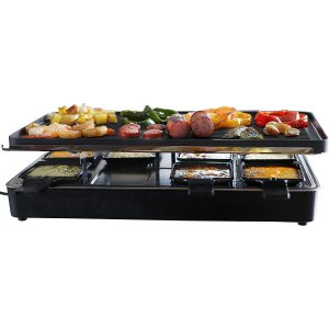 Milliard Raclette Grill Non-Stick Grilling Surface