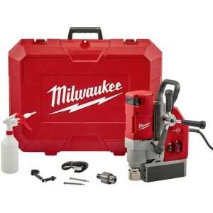 Milwaukee Electromagnetic Drill with 210 Voltages