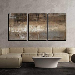 Wall26 Brown and Grey Canvas Wall Decor