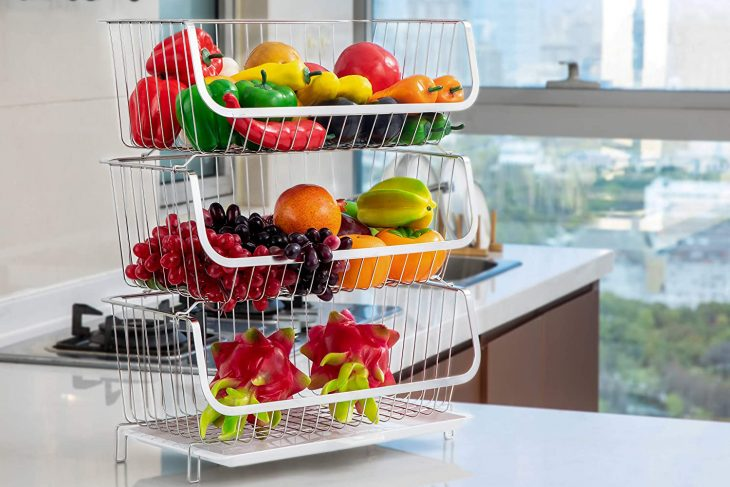 Top 10 Best Kitchen Storage Rack For Fruits in 2020