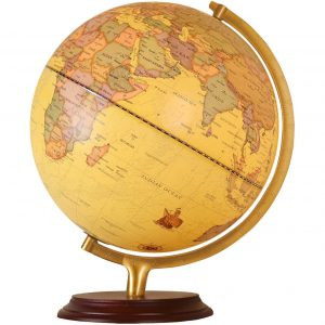 Woodlev 12 inch World Globe for Office