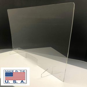 American Acrylic Display Inc. 35 x 30 Inches Shield for Counter