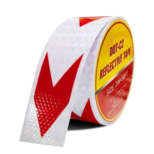 LShield Reflective Waterproof and Sunscreen Arrow Sign Tape