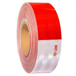 WAENLIR 2-inches x 160Ft Reflective Safety Tape Waterproof