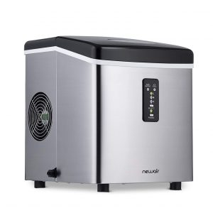 NewAir Portable Ice Maker 28lbs 3 Size Shaped Ice Maker