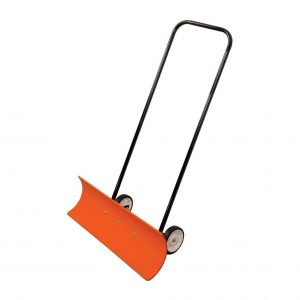 Poly Blade Wheeled Snow Pusher