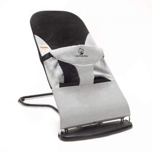 Ergonomic Baby Bouncer Seat with Adjustable Height Positions