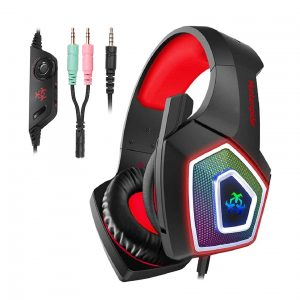 Hunterspider Gaming Headset Noise Cancelling with Microphone