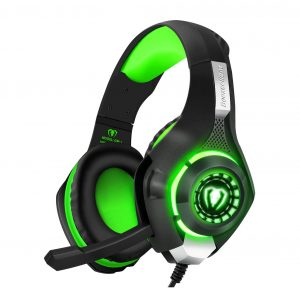BlueFire Stereo Gaming Headset for PS4 with LED Lights and Mic