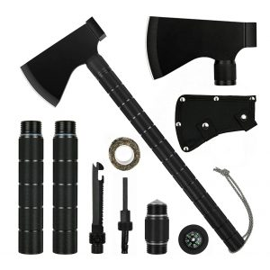Iunio Survival Axe Camping Hatchet with Sheath