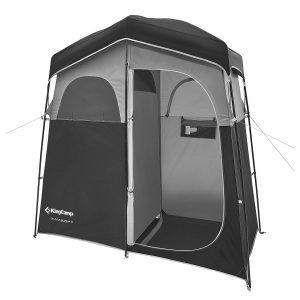 KingCamp Shower Shelter 2 Rooms Changing Tent