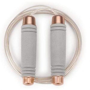 Gaoykai Weighted Jump Rope Adjustable PU Wire Rope