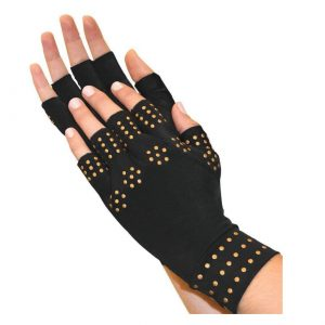 13C Compression Arthritis Fingerless Health Therapy Gloves