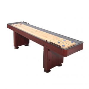 Carmelli Dark Cherry 9FT Shuffleboard Table