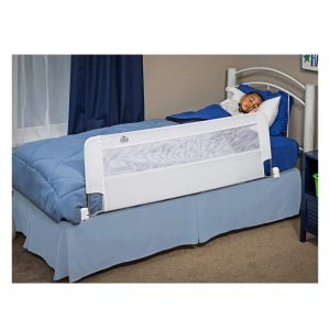 Regalo Swing Down 54 Inches Extra-Long Toddler Bed Rail