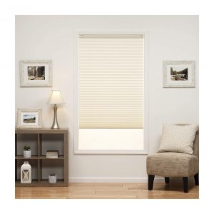 DEZ Furnishings Cordless Light Filtering Pleated Shades