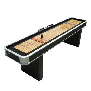 Atomic 9-FT Platinum Shuffleboard Table