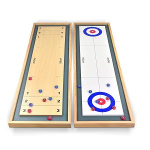 GoSports Shuffleboard and Curling 2-In-1 Table