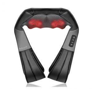 Nekteck Shiatsu Neck and Back Massager 3D Kneading