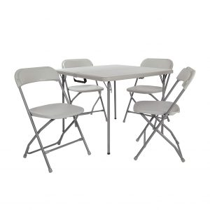 Office Star Foldable Table and Chair Set