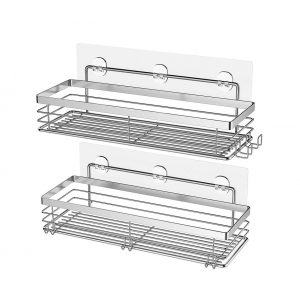 Orimade 2 Pack Adhesive Shower Caddy