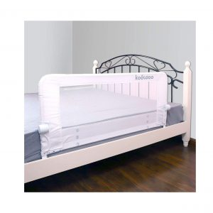 KOOLDOO 43 Inches Fold Down Toddler Bed Rail