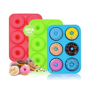 WALFOS Set of 3 Donut Pans
