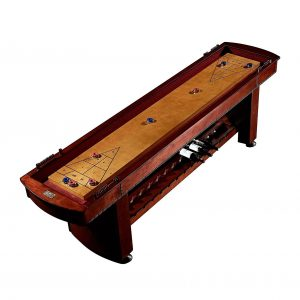 Barringto 9FT Old-Time Wood Shuffleboard Table