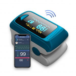 HealthTree Blood Oxygen Bluetooth OLED Display Monitor